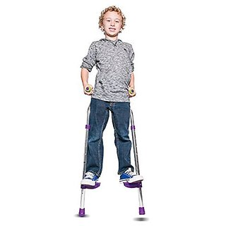 Walkaroo Wee! Balance Stilts Lite (Aluminum) For Beginners Ages 4+