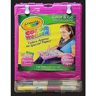 Buy Smith Crayola Color Wonder Color N Go Mess Free Coloring ...