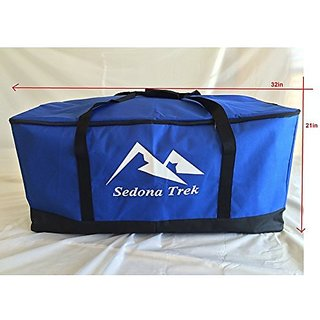 Xtra Large Multi-Purpose Bags for Travel Cargo, Sports, Camping, Hunting, Fishing Gear, Child Car Seats, All Strollers, Joggers, Storage, Tough Ballistic Fabric, Multilayered, Padded, Waterproof