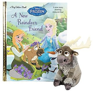 Maven Gifts: Ty Disney Frozen Sven - Reindeer with A New Reindeer Friend (Disney Frozen) (Big Golden Book)