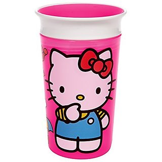 Munchkin Hello Kitty Miracle 360 Sippy Cup, 9 Ounce