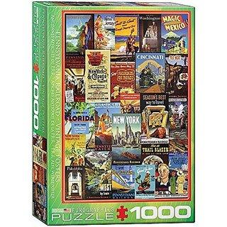 EuroGraphics Pennsylvania Railroad (1000 Piece) Puzzle