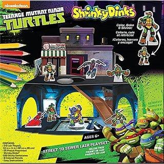 Alex Toys Shrinky Dinks Teenage Mutant Ninja Turtles Playset
