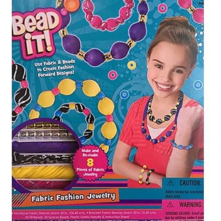 Bead It! Fabric Fashion Jewelry Kit