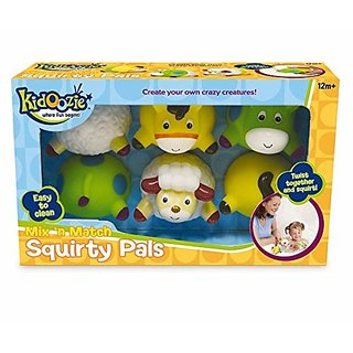 Kidoozie Mix n Match Squirty Pals Bath Toy