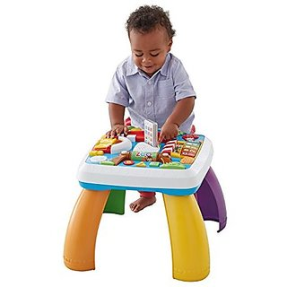 Fisher Price Laugh Learn Around the Town Learning Table, Multi Color