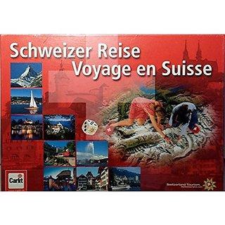 Schweizer Reise Voyage en Suisse Switzerland Travel Game