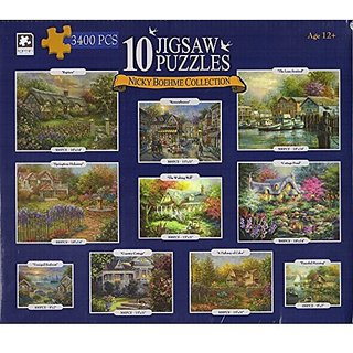 Nicky Boehme 10 Jigsaw Puzzle Collection