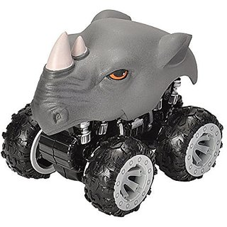 Wild Republic Motor Headz Rhino Vehicle