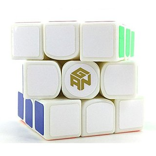 Gans Iii Gan 3 56 Gan356 Ganspuzzle 3x3 Speedcube Puzzle White With A Bag