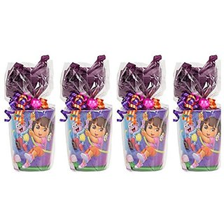 Dora the Explorer Party Supplies Pre-Filled Goodie Bag - 4 Goodie Bags