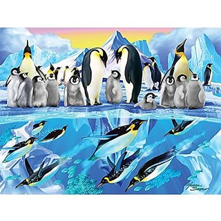 Penguin Place Sunsout 300 Piece Jigsaw Puzzle Art By Michael Searle