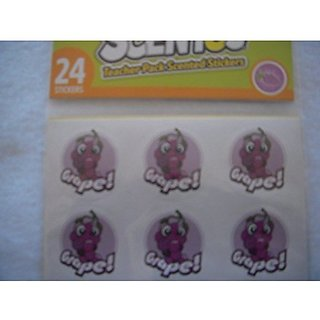 Scentos Grape Scented Stickers