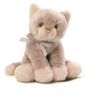 GUND Baby Oh So Soft Kitty Tan Plush