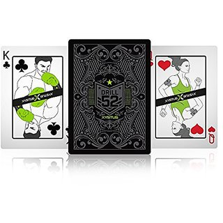 Xystus Drill 52 Exercise Playing Cards. Fitness Deck, Unlimited Workouts