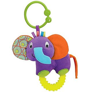 Timber the Elephant Teether Rattle