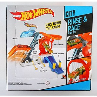 Qiyun Hot Wheels City Rinse Race Set