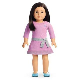 American Girl Truly Me Tm Doll: Light Skin, Dark Brown Hair, Brown Eyes Dn40