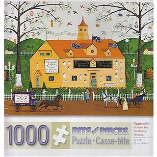 Fignottills Homes For Feathered Friends 1000 Piece Puzzle