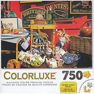 Colorluxe 750 Piece Puzzle - Antiques At Portobello