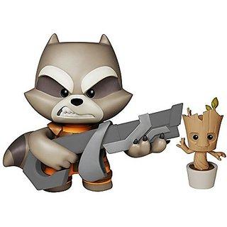 Funko Super Deluxe Vinyl: Gotg Rocket Raccoon Action Figure