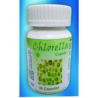 Hawaiian Herbal, Hawaii,USA -  CHLORELLA CAPSULES - 60 Capsules (Buy any Healthcare Supplement  Get the Same Drops Free)