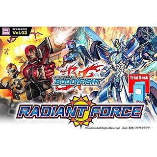 Future Card BuddyFight Hundred Radiant Force Vol.2 Trial Deck BFE-H-SD02