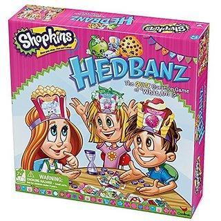 Shopkins Hedbanz Board Game
