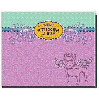 Sugar Lulu Sticker Albums Scroll, Pink