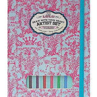 Sugar Lulu Draw With Your Heart Artist Set