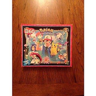 Milton Bradley 60 Piece Puzzle 1995 Pokemon
