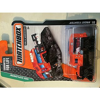 Matchbox MBX Explorers Frost Fighter Orange 107/120
