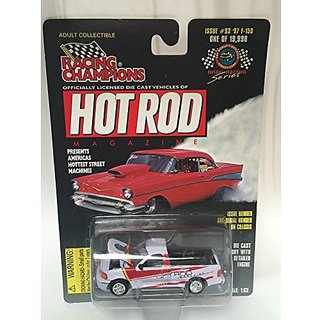 Hot Rod Issue # 93 Serial 16640 Scale 1:63 97 F 150 Chevy Pickup Die Cast Body With Detailed Engine
