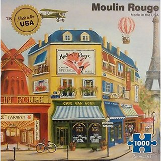Moulin Rouge 1000 Piece Puzzle