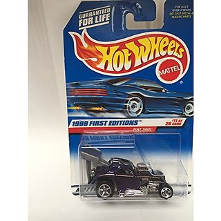 HOT WHEELS 1999 FIRST EDITIONS FIAT 500C DIE CAST