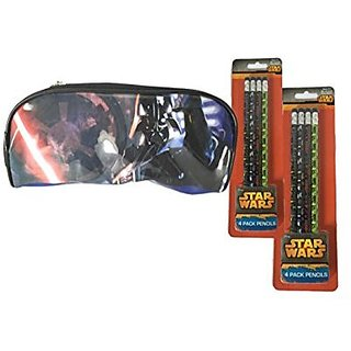 Star Wars Pencil Pouch and Pencils