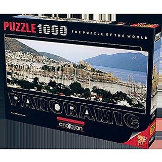 Anatolian Puzzle 1000 Piece Bodrum Panoramic