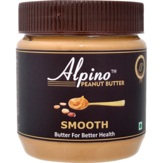 Alpino Peanut Butter Smooth 340g