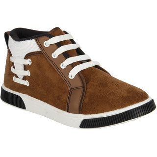 Earton Men/Boys Brown Casual Sneakers Shoes