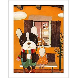 Pintoo - H1709 - Nan Jun - Side By Side - 300 Piece Plastic Puzzle