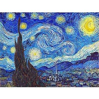 Pintoo - P1139 - Vincent van Gogh - The Starry Night, June 1889 - 150 Piece mini Plastic Puzzle