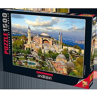 Anatolian Puzzle 1500 Piece Ayasofya