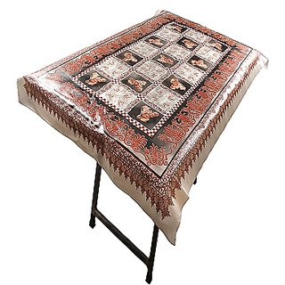 Winner Multicolor PVC Printed Table Cloth Table Cover - Party Table Cloths for Home (LXB - 145 Cm x 90 Cm), 30005129
