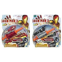 Maven Gifts: Marvel Iron Man 3 Iron Flyers Launcher Wit