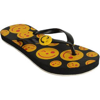 Earton Women's Yellow Flip Flops