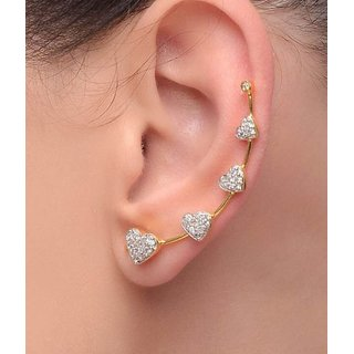 Jewels Gehna Alloy Party Wear  Wedding Stylish Fashionable Earring Set For Women  Girls