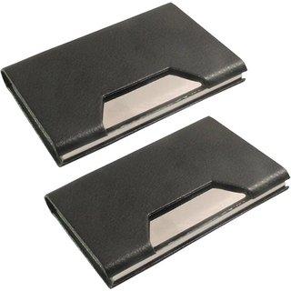 AV Enterprises 2 Black Card Holder