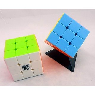Moyu 3 X 3 Speed Cube Stickerless (1 Pieces)