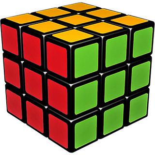 Funrally 3 X 3 X 3 Speed Cube Black (1 Pieces)