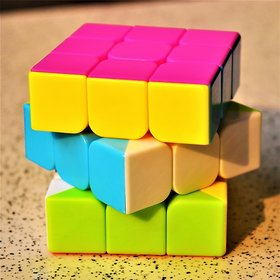 Fast  Smooth Rubik's Speed Cubes Magic 3x3x3 Cubes Recommended For Competition  No Stuck  No Sticker
